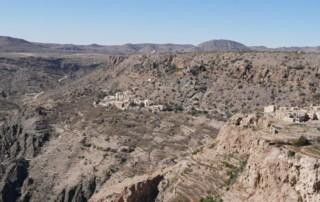 Jabal Akhdar – Zelena Planina, Oman